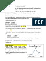 Tata Coffee & Videocon Acquisitions-Event Study Analysis