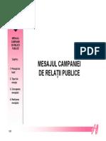 Campanii de RP Curs 8