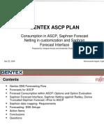 ASCP Forecast Consumption