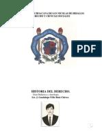 Antologia Historia Del Derecho - Jose Ruiz Chavez