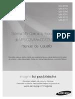 Manual Del Usuario Samsung MX MX E750 E760 E761 E770 E771 SPA