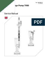 Portable Cargo Pump TK80 Simillar to Marflex Portable Pp
