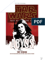 Star Wars Fate of Jedi 3 Abyss by Troy Denning