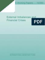 External Imbalances and Financial Crises
