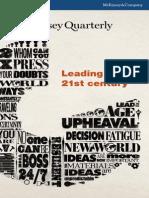 McKinsey Quarterly Q3 2012
