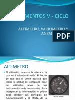 Instrumentos v - Ciclo