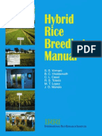 Hybrid Rice Breeding Manual