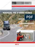 Manual de Carreteras Cons 2013