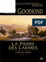 Epee de Verite 02 La Pierre Des Larmes