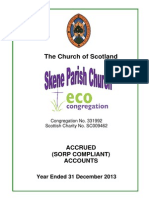 2013 church accounts