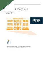 IFRI_rapport2012finalavecsommaire