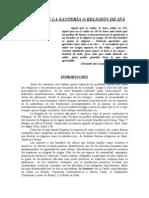 ESTUDIO DE LA SANTERÌA O RELIGIÒN DE IFÀ