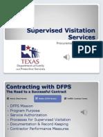 supervised visitation contractor orientation audio