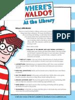 Where's Waldo? At the Library Kit