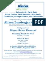 Reception for Alison Lundergan Grimes for Senate