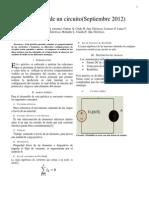 Informe 4 de Laboratorio Circuitos Electricos