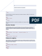Consultas básicas PHP