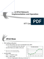 Ariga_Senji-Pv4 IPv6 Network Implementation and Operations