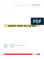 Adding Node 11gRAC