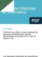 Paquetes Integrales en Informática