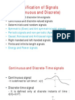 Classification of Signals Part 1
