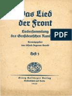 Berndt, Alfred-Ingemar - Das Lied der Front - Heft 3 (1940)