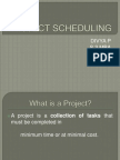 132421464 Project Scheduling