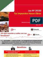 Obras Por Impuestos - Proinversion (Perú)
