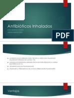 Antibióticos Inhalados