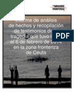 Informe Crímenes de Lesa Humanidad en Ceuta