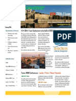 wbm 2014 lyon france   call for papers