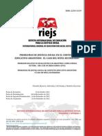 Justicia Social y Nivel Secundario RIEJS