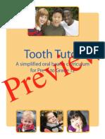 Tooth Tutor Curriclum K-12