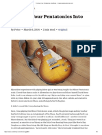 Turning Your Pentatonics Into Blues — www.seymourduncan