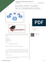 FASES DE DISEÑO Y CONSTRUCCIÓN