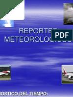 CURSO DE REPORTES METEOROLOGÍCOS