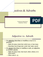 Adjectives & Adverbs for Wr