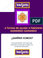 6 Formas de Ayudar a TeleGenio GANANDO-GANANDO