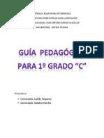 """Guía de trabajo para estudiantes de 1ero """"C"""""""