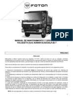 Manual Volqueta 6x4