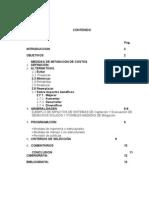 Indice Mitigacion de Costo