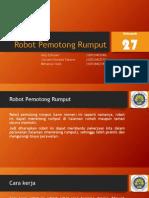 Robot Pemotong Rumput