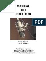 MANUAL DO LOCUTOR (Parte I) - VERSÃO PARA IMPRESSÃO - www.audiogratis.blogspot.com