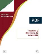 Guia de Navegacion Gestion y Direccion de Empresas Xerex11
