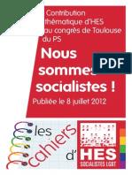Les Cahiers d'Hes #10 (8 juillet 2012)