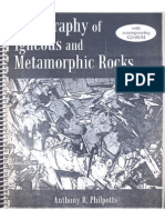Petrography of Igneous Ans Metamorphic Rocks - By Anthony r. Philpotts