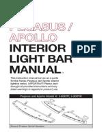 Feniex Pegasus Apollo Interior Light Bar