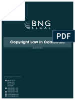 Copyright Law in Cambodia