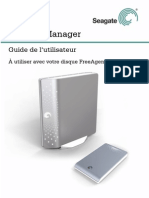 Seagate Manager UG French