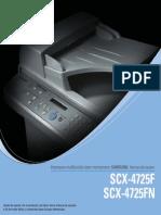 Manual de Usuario SCX-4725FN